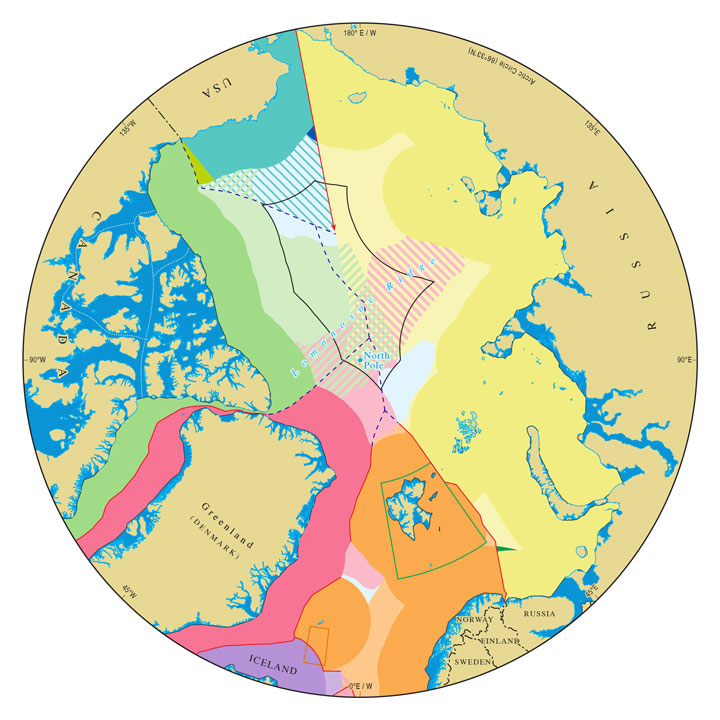 IBRU: Centre for Borders Research : Arctic maps - Durham ...