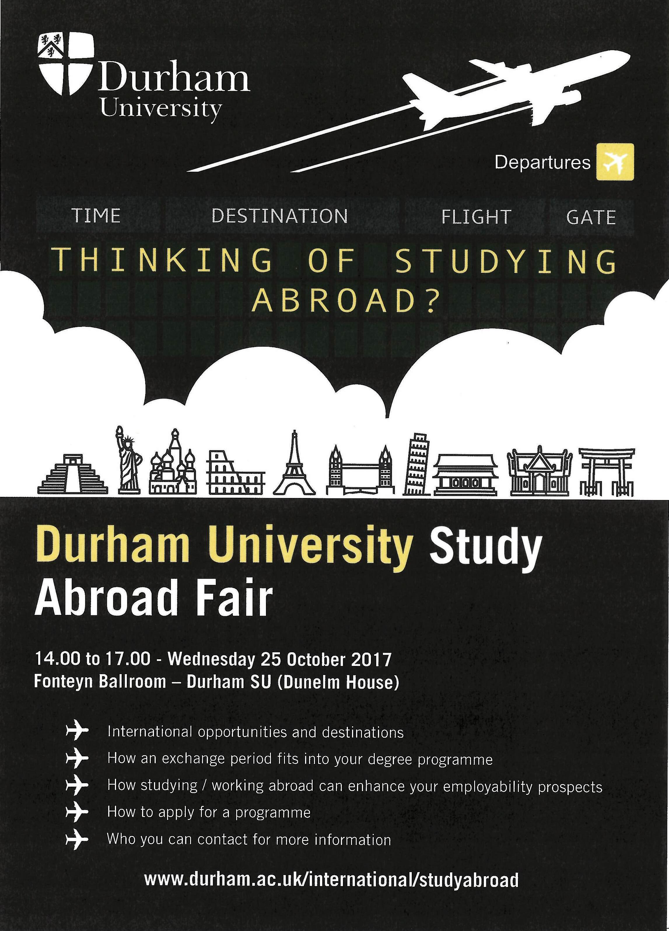 Study Abroad Fair | Office of International Education