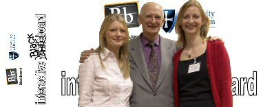 Image shows from left to right - H  Pavey., Lord Dearing and K Boardman at the Blackboard conference in December 2004