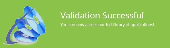 Your session has been validated and you can now use the App Hub
