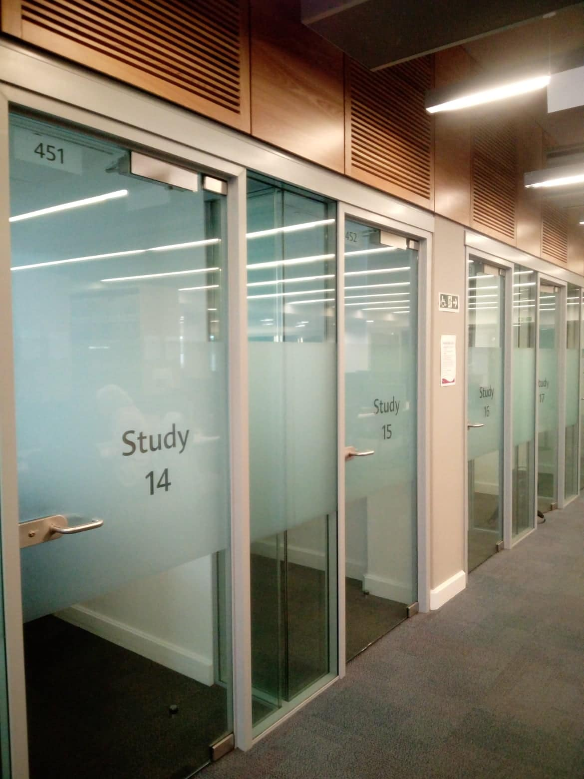 Library Study Room Ideas: University Library : Study Rooms