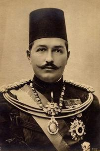 Image of Abbas Hilmi II, Khedive of Egypt 1892-1914. See page for author [Public domain], via Wikimedia Commons.