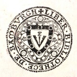 Bamburgh Library bookplate