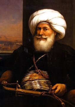 Painting of Mohamed Ali Pasha, Khedive (Viceroy) of Egypt 1805-1848