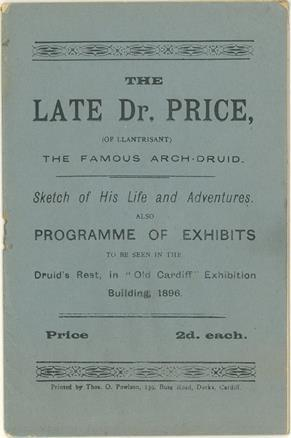 Image of exhibition pamphlet, 1896. (CRE/UK1/1896/2)
