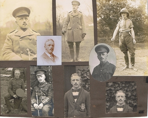 Images of 2nd Lt. G.H. Grimshaw (Image: Wilkie family collection)