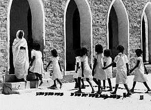 Girls' school, Wadi Halfa 1944
