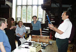 Training in care and handling of paper-based collections through the Collections Care Scheme