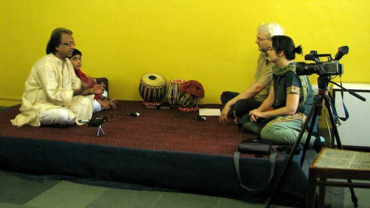 7 Feb 2010 - Mumbai - Interview - Nayan and Ishan Ghosh