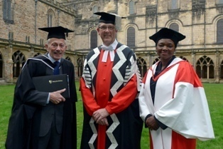 Ken West, Professor Higgins and Baroness Amos