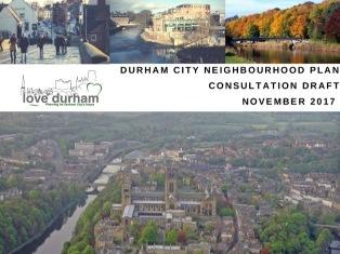 Neighbourhood Plan Public Consultation Events Durham University