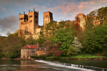 Durham Cathedral on the river Wear