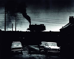 County Durham, Summer 1968 at Houghton-le-Spring Colliery - a dramatic afternoon thunderstorm