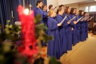 Durham Music Department Choir: Image NCJ media