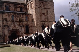 Students graduate from Durham University