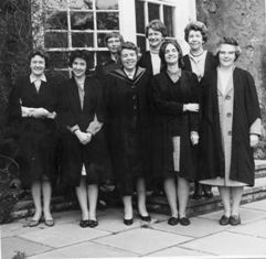 First women students at John's, Oct 1966