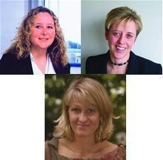 Insights Into Success speakers (clockwise) Liz Jackson, Janet Shelley and Lena Bjork