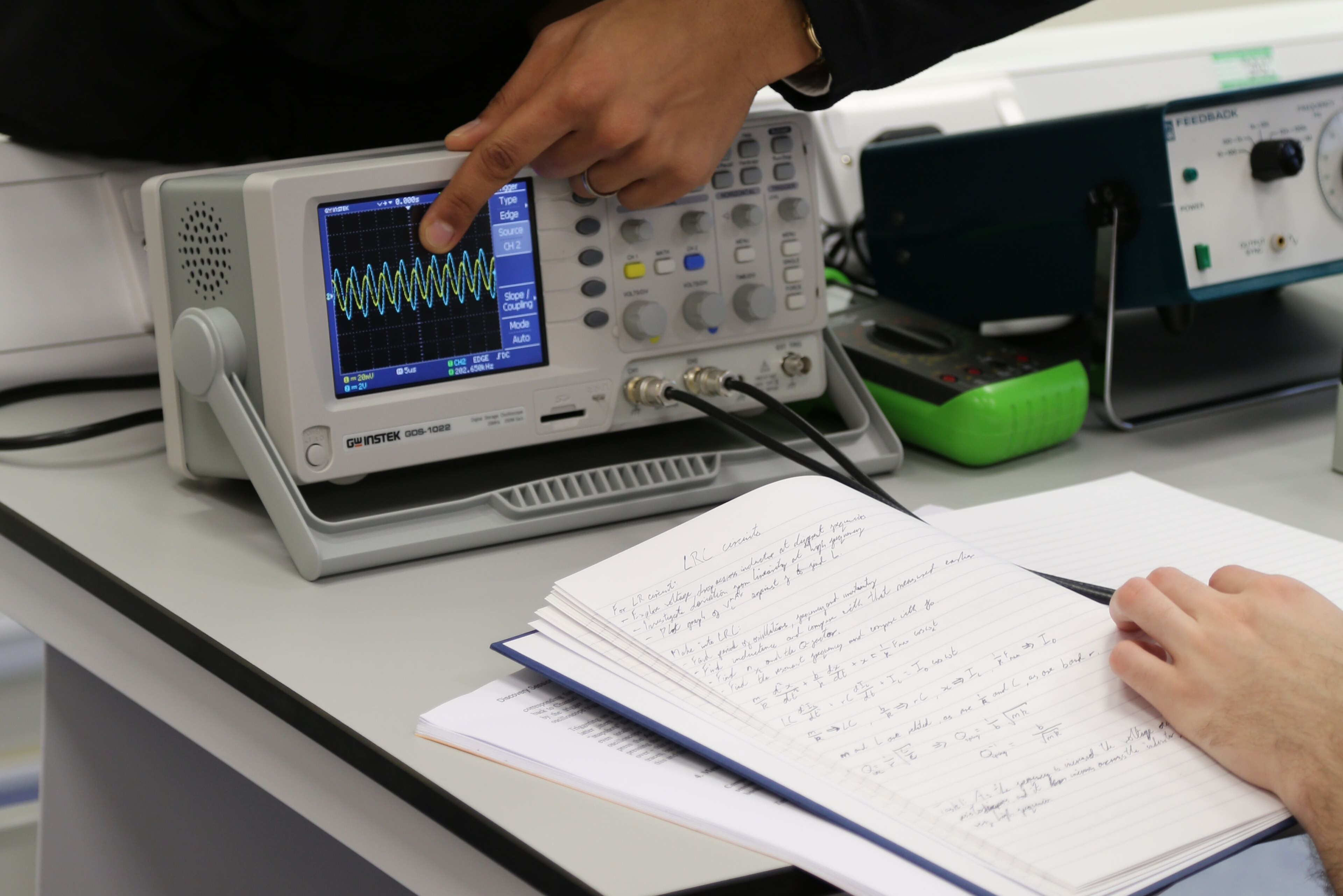 a level physics coursework experiments Advanced physics laboratory iic nuclear physics experiments 65 the aim of a lab course in the advanced physics teaching lab is.