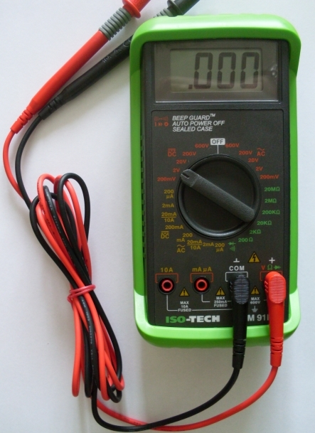 Department Of Physics Digital Multimeters Durham