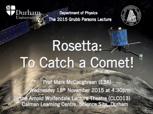 Poster for the lecture