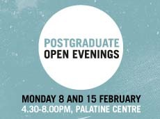 Postgraduate open evenings