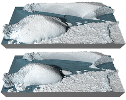 Antarctic Ice models at the Last Glacial Maximum (LGM, ~21 ka BP)