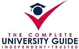 Image result for complete university guide logo