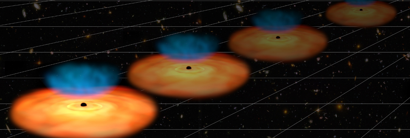 Black holes shed light on expanding Universe