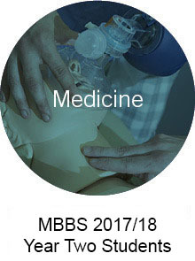MBBS 2017/18 Year Two Students