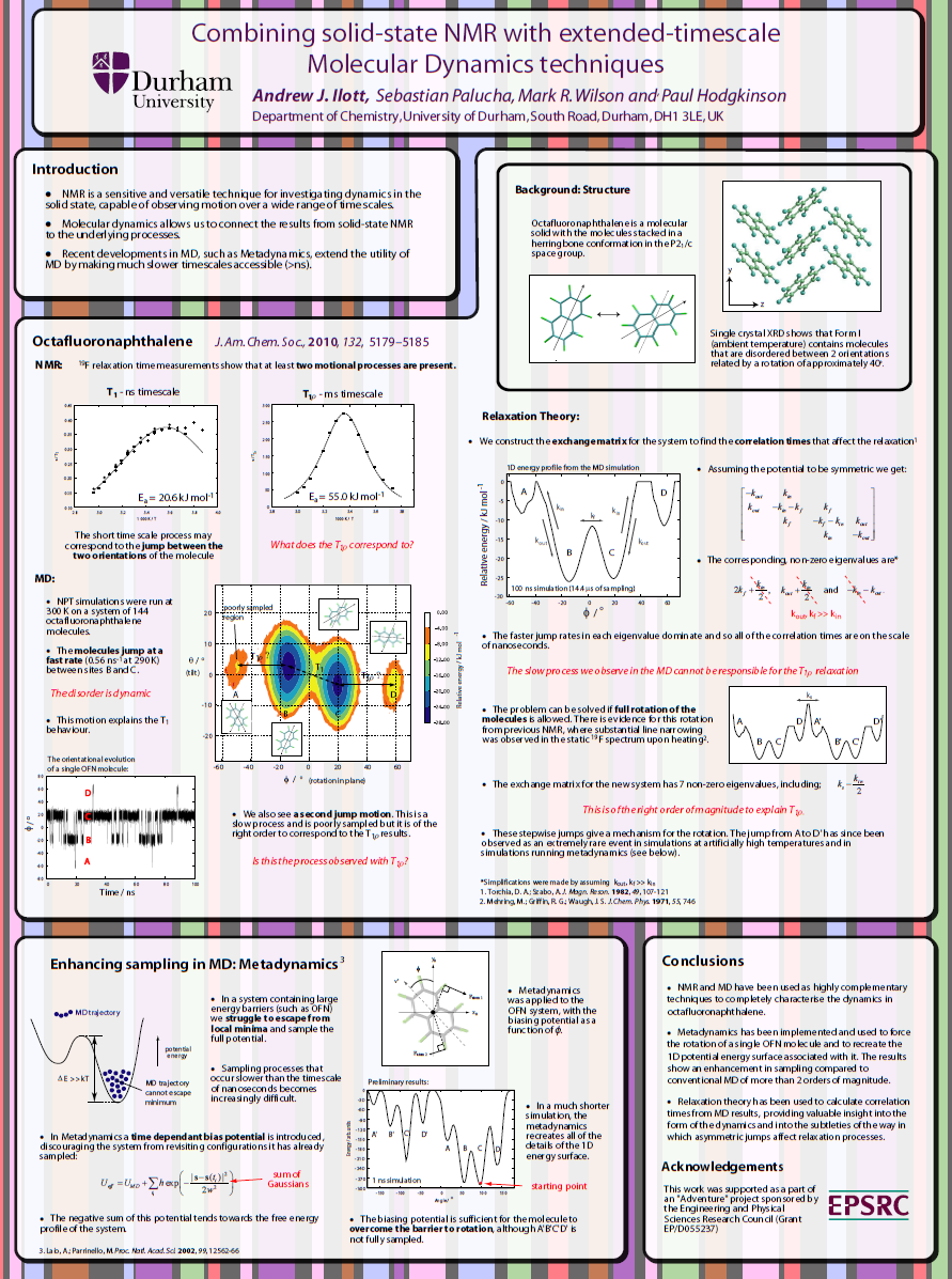 solid state nmr group poster gallery durham university