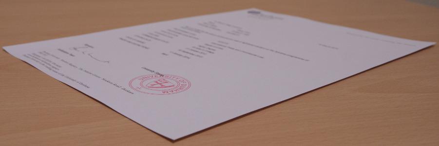 student registry   online document store