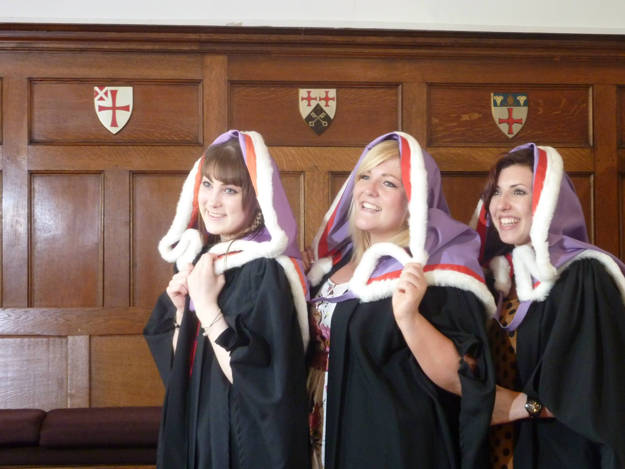 3 Stephenson Girls graduating in 2011