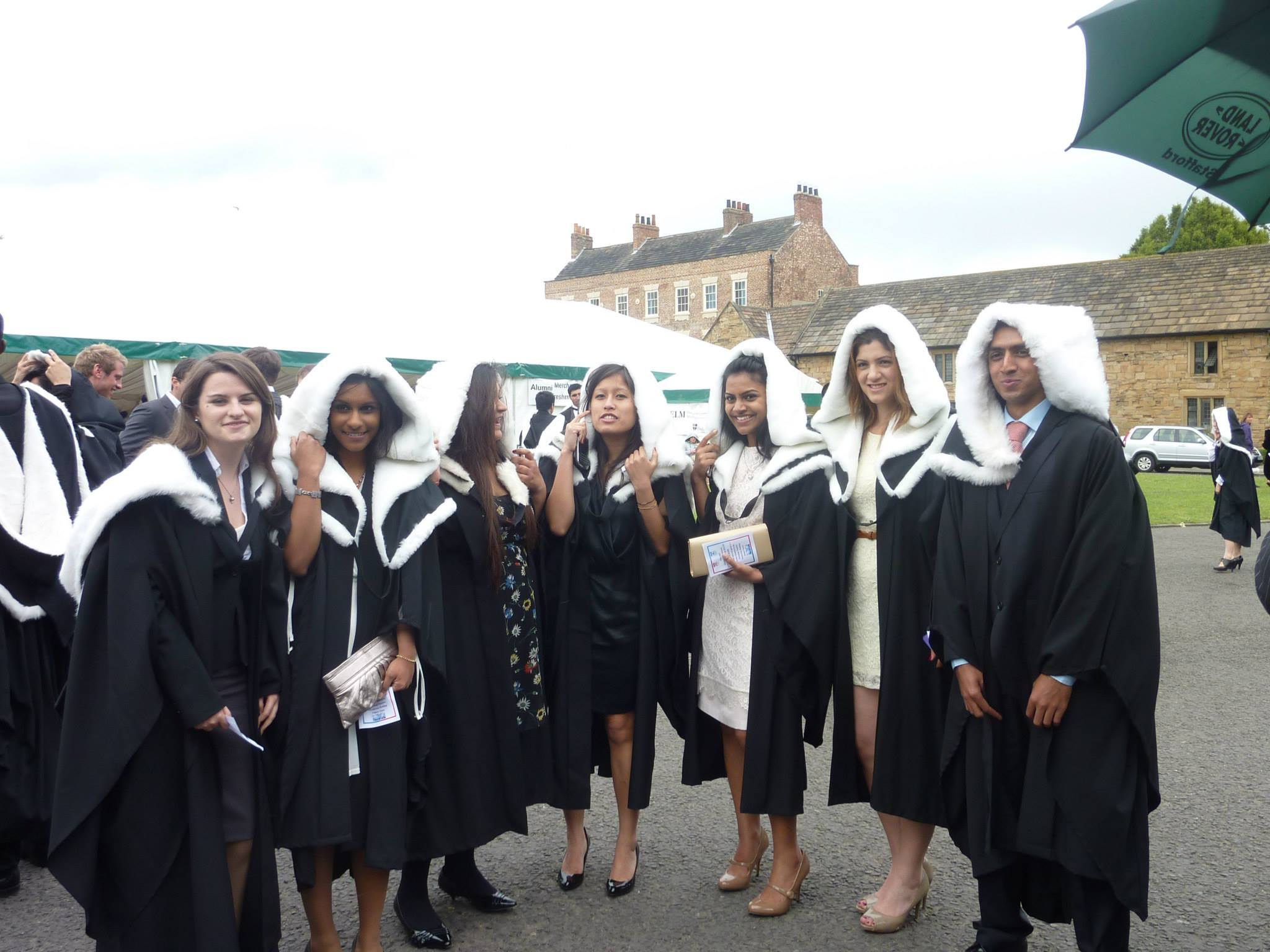Students at Graduation in 2010