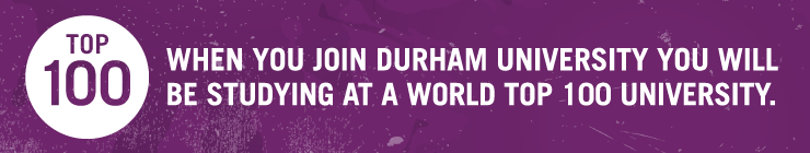Durham University is a top 100 University