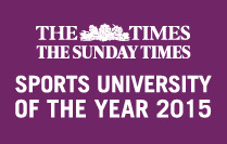 Durham named Sports University of the year 2015 by the Times and Sunday Times