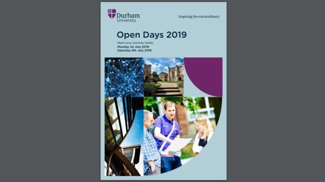 View the Open Day Guide