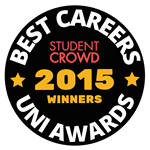 Ranked 2nd for Careers Service