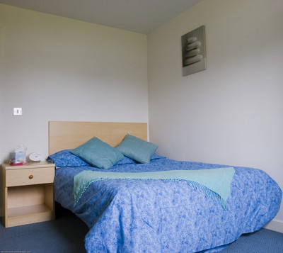 Typical double room, Keenan House
