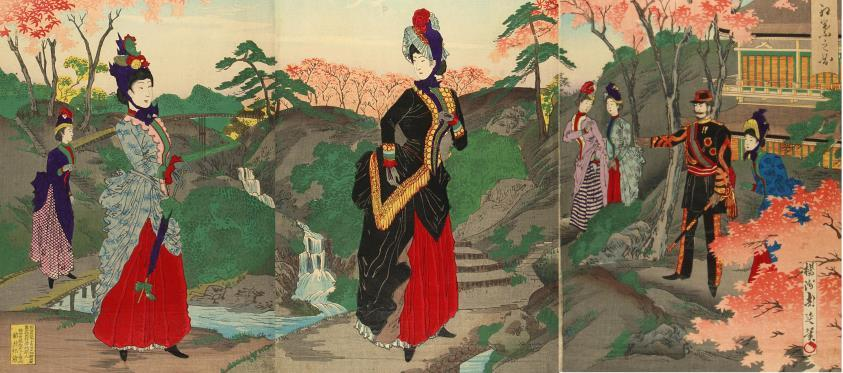 The Emperor's New Clothes: Transforming 19th Century Japan